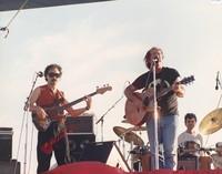Robert Hunter and the Mystery Band: Bobby Vega, Robert Hunter, and Mickey Hart