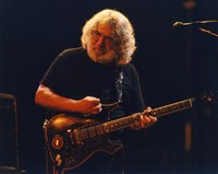 "Jerry Garcia performing ""Promised Land"""