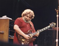 "Jerry Garcia performing ""C.C. Rider"""