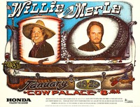 Willie & Merle, January 28 & 29, 1982, Cow Palace