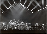 Grateful Dead, ca. 1991: Phil Lesh, Bill Kreutzmann, Bob Weir, Mickey Hart, Jerry Garcia, Vince Welnick, Bruce Hornsby