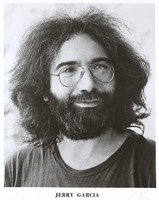 Jerry Garcia, ca. 1975: publicity photo for Round Records