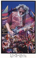 Memorial for Jerry Garcia: a photographic memorial