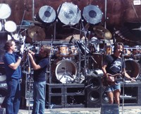 Grateful Dead: Bill Kreutzmann, Brent Mydland and Bob Weir
