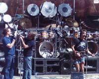 Grateful Dead: Bill Kreutzmann, Brent Mydland and Bob Weir