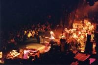 Bonnie Raitt and the Grateful Dead: Brent Mydland, Jerry Garcia, Bonnie Raitt, Bob Weir, Phil Lesh, Mickey Hart, Bill Kreutzmann