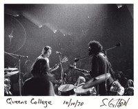 Grateful Dead: Bob Weir and Jerry Garcia, with Bill Kreutzmann in the foreground