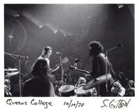 Grateful Dead: Bob Weir and Jerry Garcia, with Bill Kreutzmann in the foreground