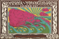 Santana, Youngbloods, Allmen Joy - Lights by Little Princess 109 - Bill Graham Presents in San Francisco - May 15-18 [1969] - Fillmore West