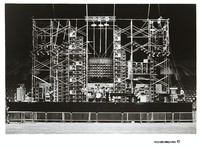 Grateful Dead at Pacific National Exhibition Coliseum: distant view of the stage and Wall of Sound