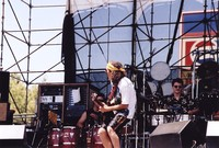 Santana: Carlos Santana, Raul Rekow and Karl Perazzo