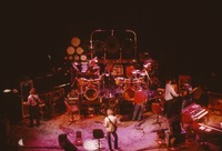 """Grateful Dead So Far"" production: Phil Lesh, Bill Kreutzmann, Bob Weir, Mickey Hart, and unidentified crew members"