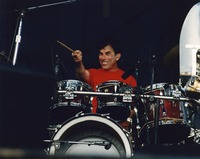 "Mickey Hart performing ""Me and My Uncle"""