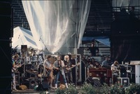 Grateful Dead and Bob Dylan: Phil Lesh, Bob Weir, Bob Dylan, Jerry Garcia, Brent Mydland