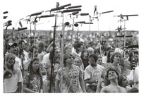 Deadheads in the Taper's section at an outside venue