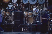 Grateful Dead: Bill Kreutzmann, Mickey Hart, and Jerry Garcia