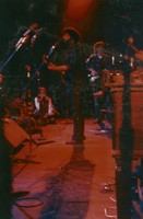 "Grateful Dead, benefit for Airwaves: Jerry Garcia and Phil Lesh: photo by ""Joshua"""