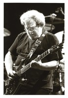 Jerry Garcia with the guitar Lightning Bolt, ca. 1994