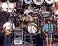 Grateful Dead: Phil Lesh, Bill Kreutzmann and Bob Weir