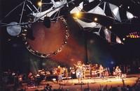 Other Ones, ca. 1998: Bruce Hornsby, Dave Ellis, John Molo (obscured), Bob Weir, Phil Lesh, Mickey Hart, Mark Karan, Steve Kimock
