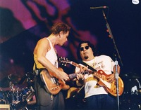 Bob Weir and Cesar Rosas