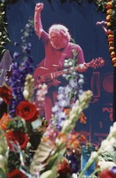 Memorial for Jerry Garcia: photo of Jerry in the altar collection
