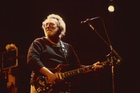 "Jerry Garcia with the guitar ""Tiger"""