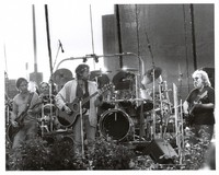 Grateful Dead and Bob Dylan: Bob Weir, Bill Kreutzmann, Bob Dylan, Mickey Hart, Jerry Garcia
