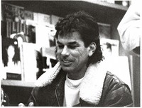 Mickey Hart at the Booksmith bookstore on Haight Street