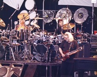 Grateful Dead: Bill Kreutzmann, Mickey Hart and Jerry Garcia