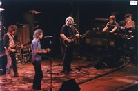 Grateful Dead and the Neville Brothers: Brian Stolz, Bob Weir, Jerry Garcia, Brent Mydland, Art Neville