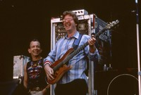 Phil Lesh, with an unidentified crew member