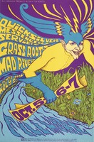 Quicksilver Messenger Service, Grass Roots, Mad River - Lights by Holy See - Bill Graham Presents in San Francisco - October 6-7 [1967] - Fillmore Auditorium