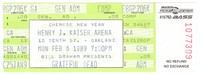 Bill Graham Presents Chinese New Year -  Grateful Dead - Henry J. Kaiser Convention Center - February 6, 1989