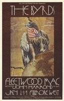 Byrds, Fleetwood Mac, John Hammond - Lights: Brotherhood of Light - Bill Graham Presents in San Francisco - Fillmore West - January 2-4, 1970