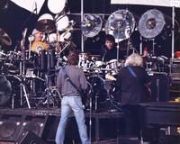 Grateful Dead: Bill Kreutzmann, Bob Weir, Mickey Hart, and Jerry Garcia