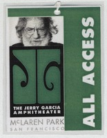 Jerry Garcia Amphitheater, McLaren Park [Dedication] - All Access [laminate]