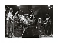Grateful Dead, ca. 1987: Phil Lesh, Bob Weir, and Jerry Garcia