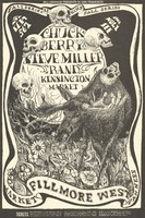 Chuck Berry, Steve Miller Band, Kensington Market - Lights: The Holy See - Bill Graham Presents in San Francisco - September 5-7 [1968] - Fillmore West