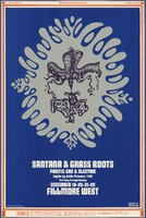 Santana, Grass Roots, Pacific Gas & Electric - This House Divided Against Itself - Bill Graham Presents in San Francisco - December 19-22 [1968] - Fillmore West
