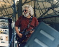 "Jerry Garcia performing ""Dire Wolf"""