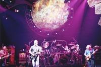 Grateful Dead: Phil Lesh, Bob Weir, Bill Kreutzmann (obscured), Mickey Hart and Jerry Garcia