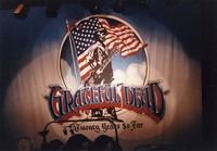 "Grateful Dead's ""Twenty Years So Far"" backdrop"