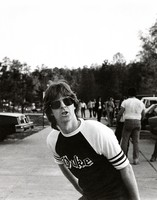 Phil Lesh in the parking lot at William and Mary College
