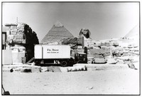 "Grateful Dead in Egypt: ""The Manor"" Mobile Recording Unit on site at Giza's Sound and Light Theater"