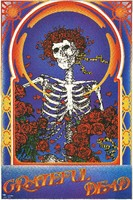 Grateful Dead - Skeleton and Roses