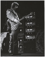 Phil Lesh in a Nudie's of Hollywood suit
