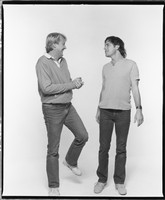 Jon McIntire and Bob Weir