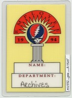 Grateful Dead - Spring 1994 - Access All Areas [laminate]