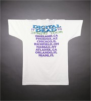 "T-shirt: ""Steal Your Fractal!"" - stealie. Back: ""Digital Dead Spring Tour 1994"""